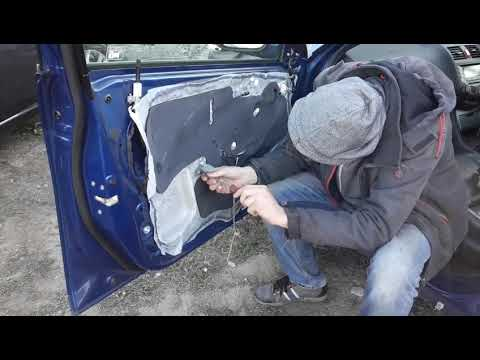 Honda Accord Sl 7. Разбор двери