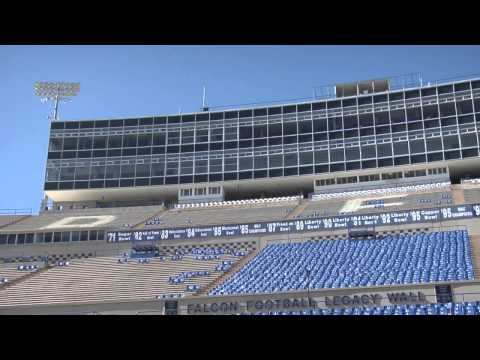 What all goes into an Air Force football game?
