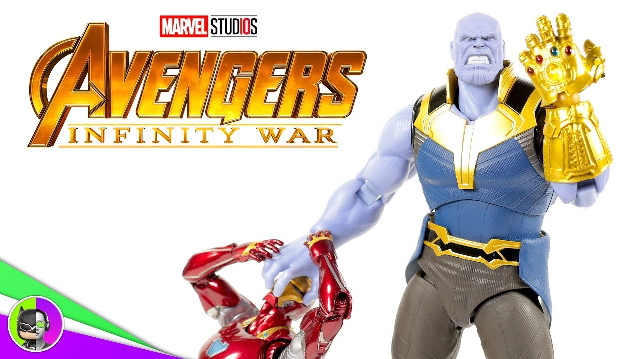 Avengers Endgame Ultimate Thanos Infinity Glove S.H Figuarts Action Figure New