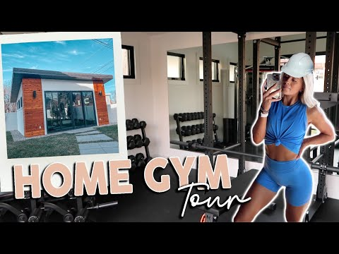 MY COMPLETE HOME GYM TOUR