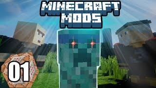 Minecraft Mods Indonesia - Bertemu Creeper Jogging! (1)