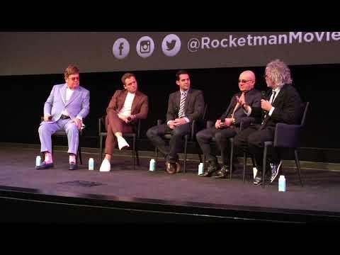 Q&A with ELTON JOHN, TARON EGERTON, BERNIE TAUPIN