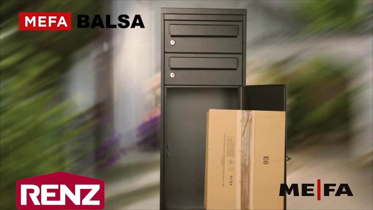Ansprechend Mypaketkasten Galerie Von Mefa Balsa Paketkasten / Renz Paketkasten