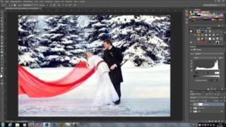 Видео урок по обработке зимней свадебной фотографии(Видео урок по обработке зимней свадебной фотографии ОТ и ДО в программе PhotoShop Узнать подробности и приобрес..., 2015-11-01T20:09:07.000Z)