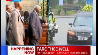 Video Former President Mwai Kibaki attends Kenneth Matiba's funeral service download MP3, 3GP, MP4, WEBM, AVI, FLV Oktober 2018