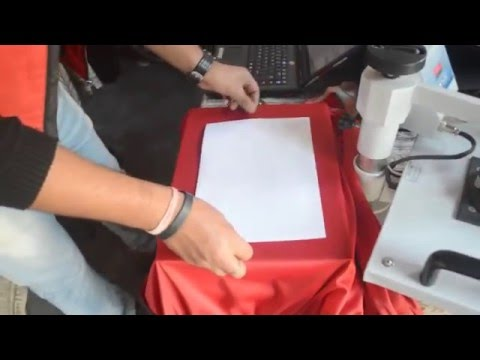 Custom Tracksuit Printing Heat Press Machine