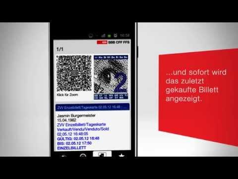 SBB Mobile. Der Billettautomat In Ihrer Hand.