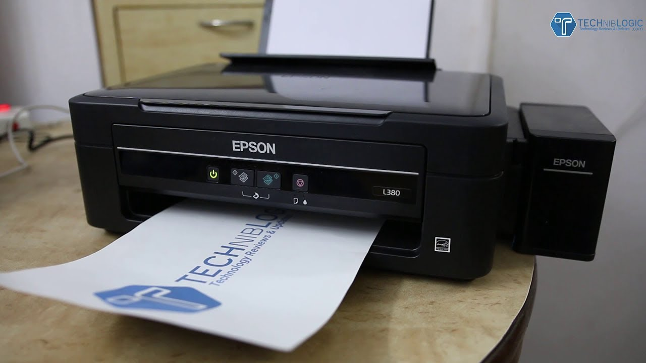 Epson L380 Printer Review and Installation in HINDI - Best Home Printer  2018?