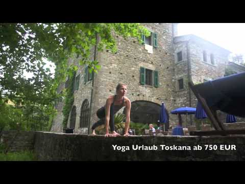 Jivamukti Sonnengruß - Toskana/Italien - Yoga Urlaub