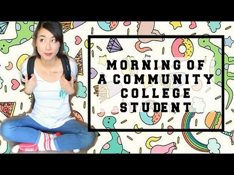 Morning of a Community College Student