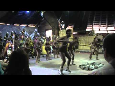 Lesedi Cultural Village dance in South Africa