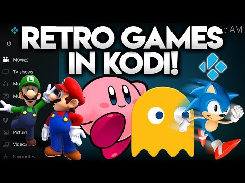 PLAY RETRO GAMES IN KODI