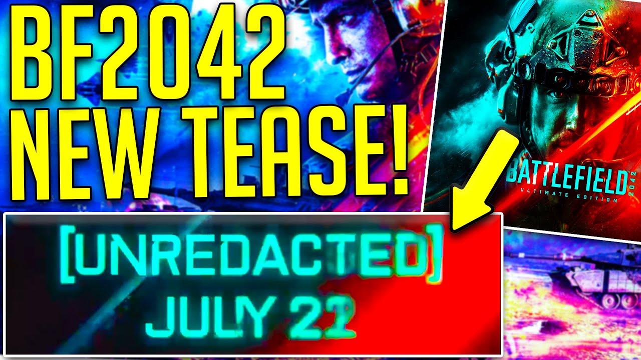 NEW BATTLEFIELD 2042 OFFICIAL TEASE (EXPLAINED!) - BATTLEFIELD HUB Gameplay Tease!?