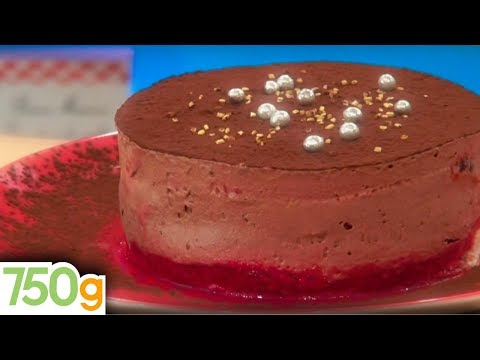 Recette du Royal au chocolat et aux framboises - 750 Grammes