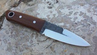 Bladesmithing - Forging a Scottish sgian dubh