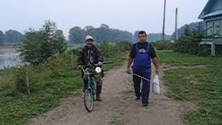 Возвращаемся с рыбалки -2005 год д. Азигулова .Видео Нусратуллина Ф.Г.