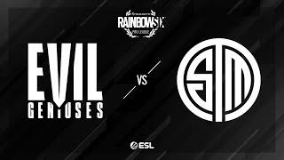 Evil Geniuses vs. TSM - Kafe - Rainbow Six Pro League - Season XI - NA