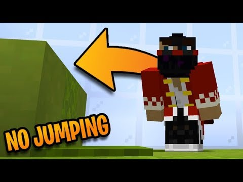Minecraft Except You Can't Jump