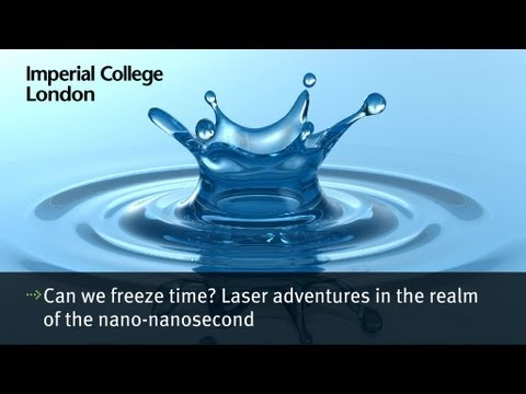 Can we freeze time? Laser adventures in the realm of the nano-nanosecond