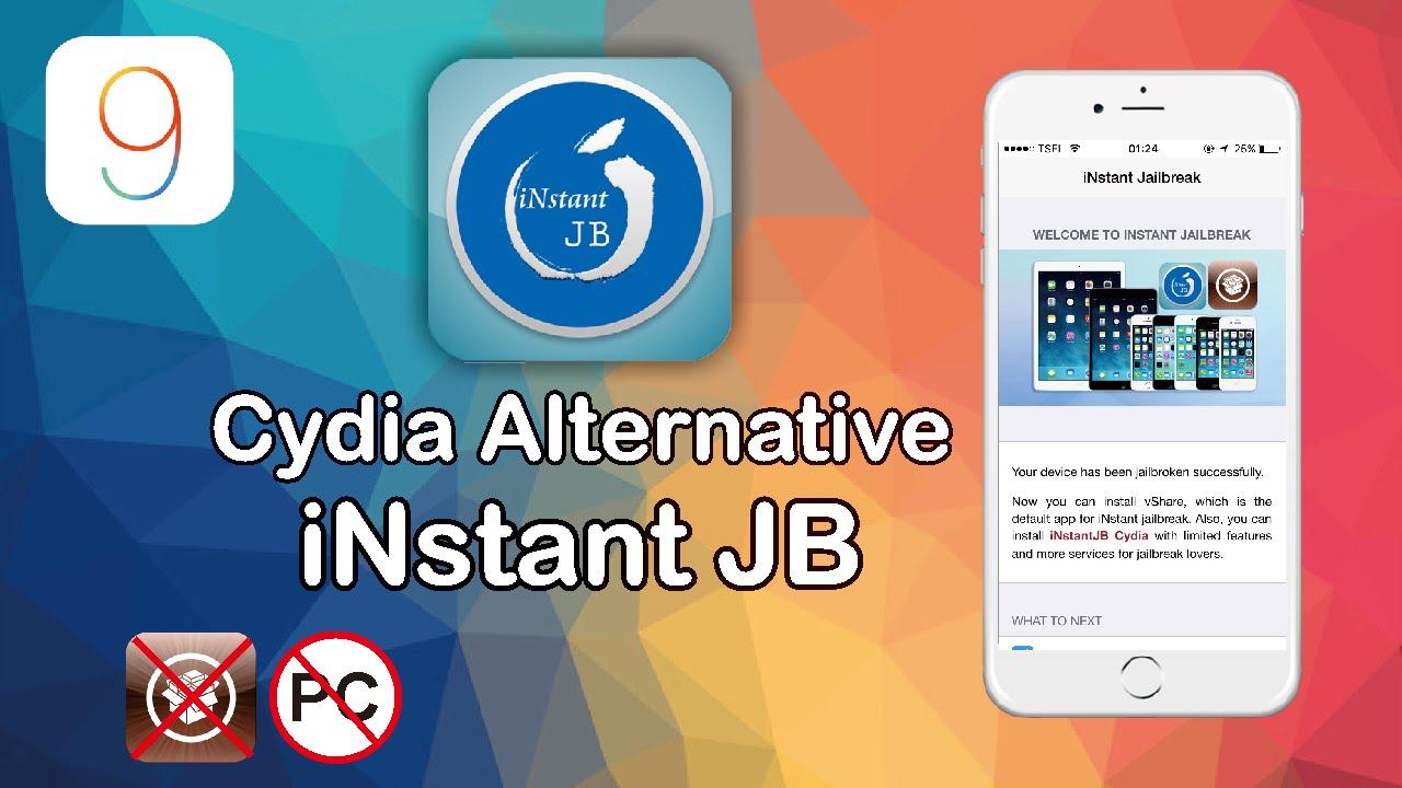 NEW INstant JB Alternative Cydia For Iphone IOS 9