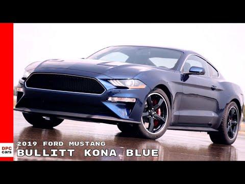 Ford Mustang Bullitt Kona Blue