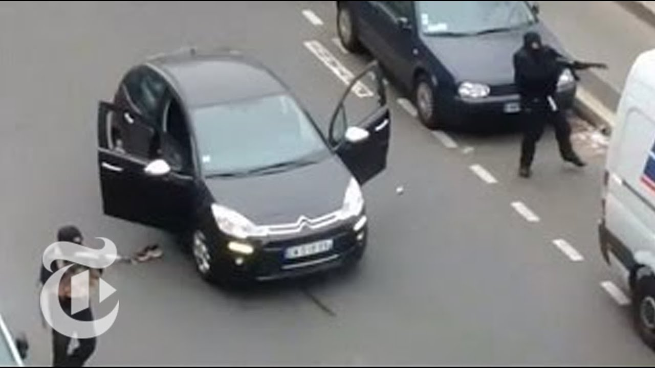 Download Eyewitness Videos of Paris Shooting Terror Attack at Charlie Hebdo   The New York Times