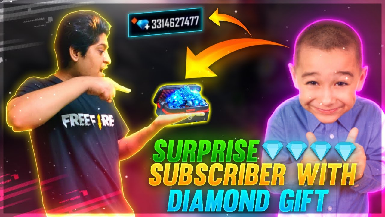 10 Years Boy Free Topup 💎10000 Diamond & DJ Alok Gift | Surprise Gift Subscribe | Garena Free Fire