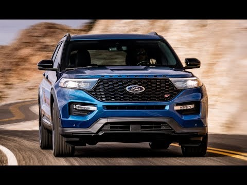 2020 Ford Explorer ST Interior, Exterior and Drive