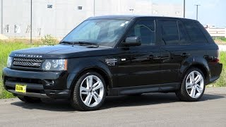 2013 Range Rover Sport Supercharged **SOLD** - Video Test Drive with Chris Moran - Supercar Network