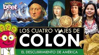 DESCUBRIMIENTO DE AMERICA LOS 4 VIAJES CRISTOBAL COLON 12 octubre 1492