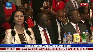 Dignitaries Join Jim Ovia For Book Launch 'Africa Rise And Shine' Pt.2 |Live Event|