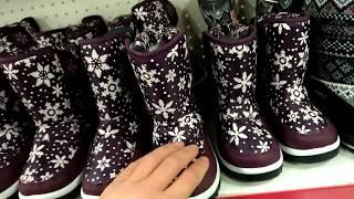 СИМА-ЛЕНД ОБЗОР/распродажа детской зимней обуви