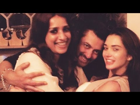 Salman Khan PARTIES With Amy Jackson & HOT Girls