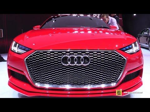 2015 Audi TT Sportback Concept - Exterior and Interior Walkaround - 2014 Paris Auto show