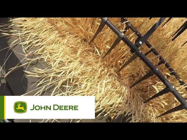 John Deere - Mietitrebbie serie S - Field impressions Wheat