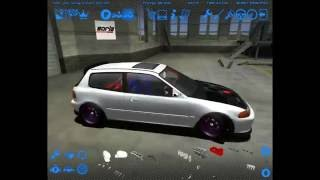 Street Legal Racing Redline By Jack V3:Honda Civic EG6 VTI B16 TURBO (HD)