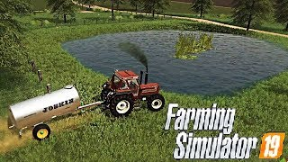 #22 - CREIAMO UN LAGHETTO - FARMING SIMULATOR 19 ITA RUSTIC ACRES MAP