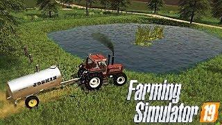 #22 - CREIAMO UN LAGHETTO - FARMING SIMULATOR 19 ITA RUSTIC ACRES MAP