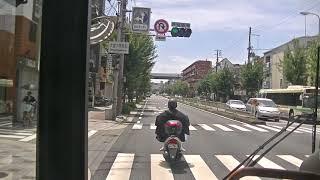 大阪シティバス前面展望 34号系統 守口車庫前~大阪駅前