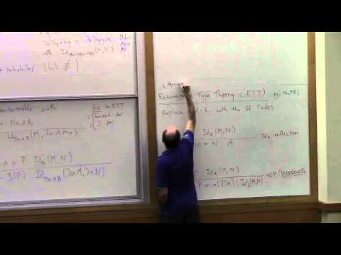 Type Theory Foundations, Lecture 5