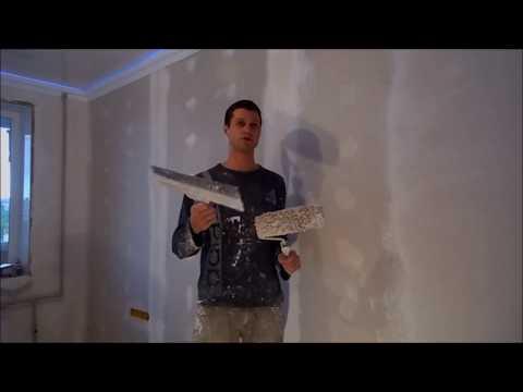 видео: Шпаклевка валиком. Эксперимент.