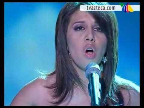 Fabiola canta Por ti Volaré- Final Desafío de Estrellas