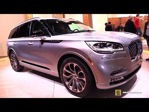 2020 Lincoln Aviator - Exterior and Interior Walkaround - Debut at 2018 LA Auto Show
