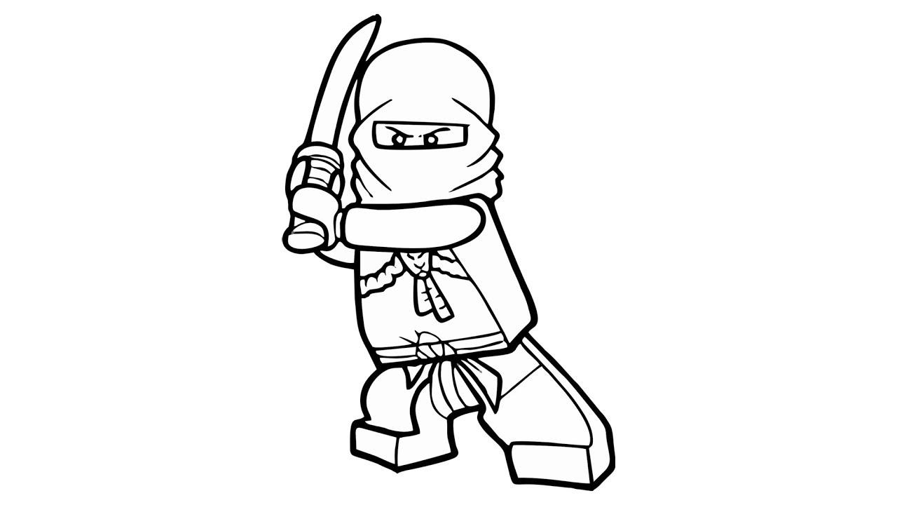Wie Zeichnet Man Kai Von Ninjago Charakter Youtube