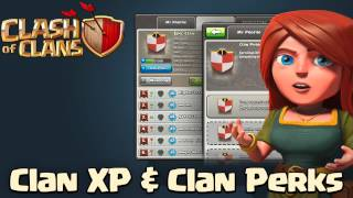 Clash Of Clans Clan XP Clash of Clans Clan Perks