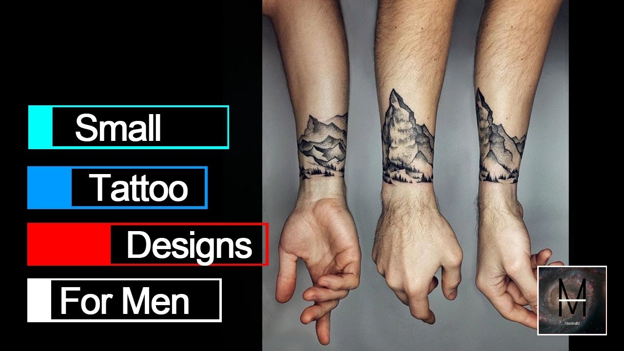 Small Tattoo Designs For Men 2018 Youtube