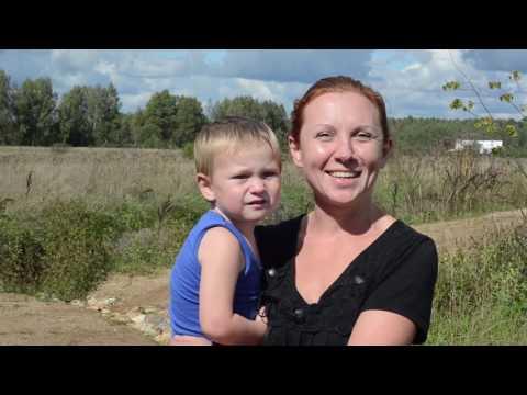 Интервью про детей и про жизнь в  поселение Стреленки. Юля Суханова. (часть 7)