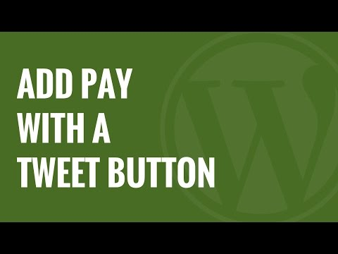 How to Add Pay With a Tweet Button for File Downloads in WordPress - 동영상