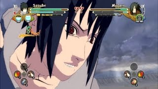 (PS3) Team 7 vs Edo Madara Naruto Ultimate Ninja Storm 3