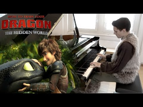 How To Train Your Dragon 3 - Ending Music (Piano Cover)